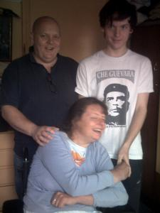 Nicola with husband, Andy, and son, Jack